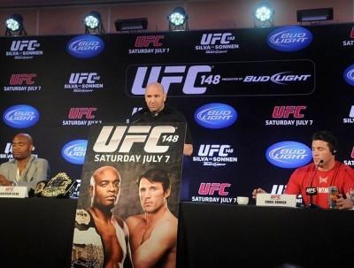 UFC 148 – Falastrão Sonnen vs nada humilde Spider