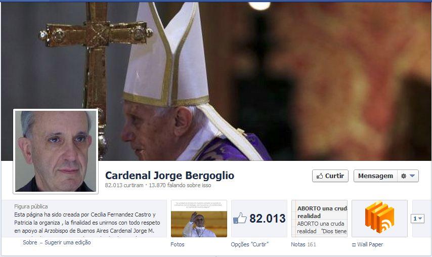 Facebook do Papa Francisco I
