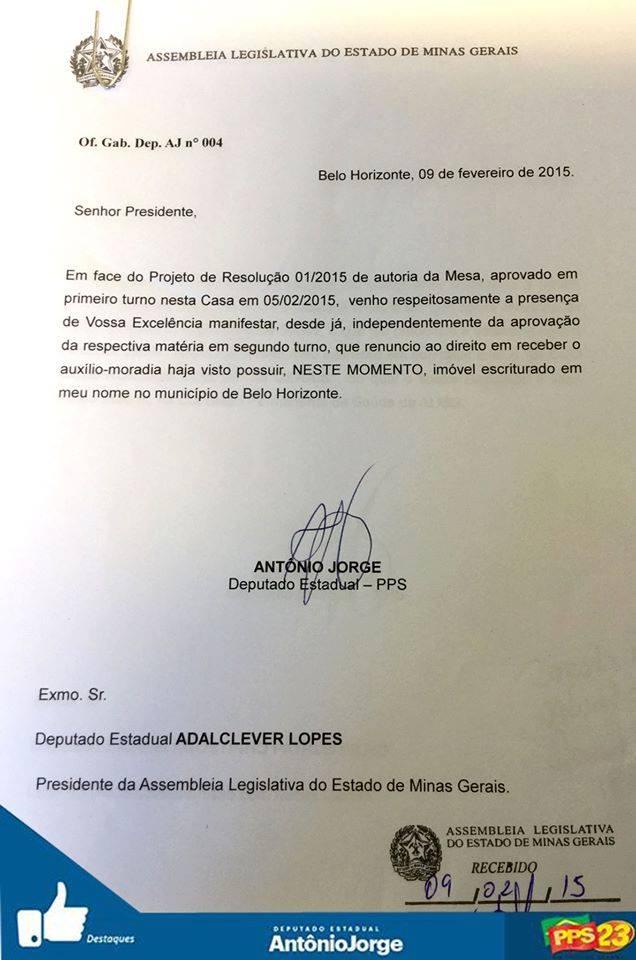 Dep. Antonio Jorge