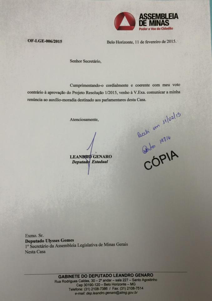 Dep. Leandro Genaro