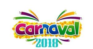 Programação do Carnaval 2018