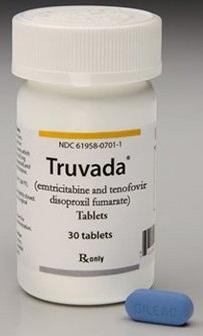 embalagem da pilula truvada